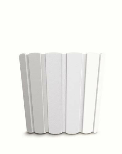 Květináč BOARDEE BASIC bílý 28,5cm