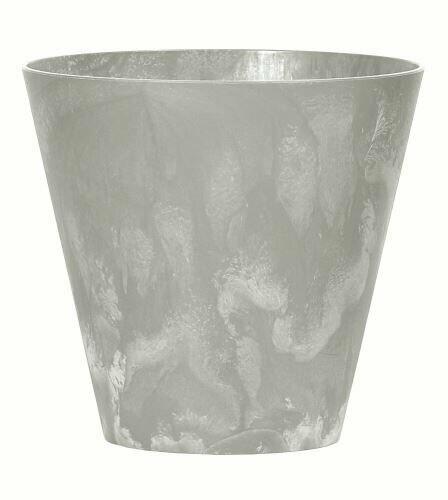 Květináč TUBUS BETON NEW šedý 25cm