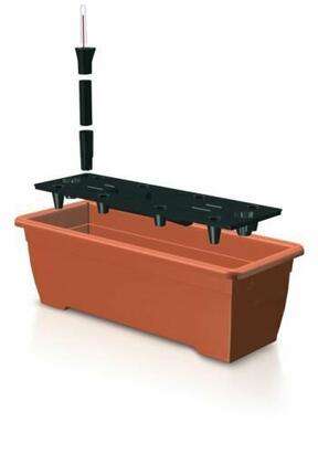 Truhlík BALCONY CAN 50 cm + zavlažovací systém