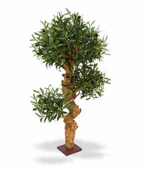 Umělá bonsaj Olivovník 90 cm
