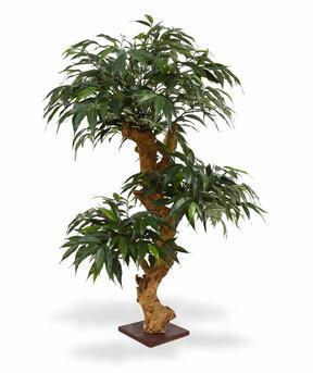 Umělá bonsaj Shirakashi 80 x 50 cm