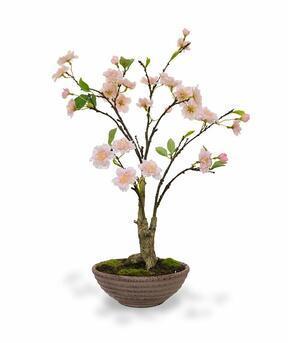 Umělá bonsaj Třešeň 55 cm