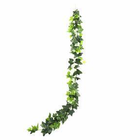 Umělá girlanda Břečťan zelená 190 cm
