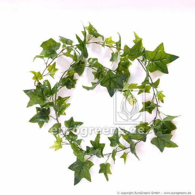 Umělá girlanda Břečťan zelený 180 cm