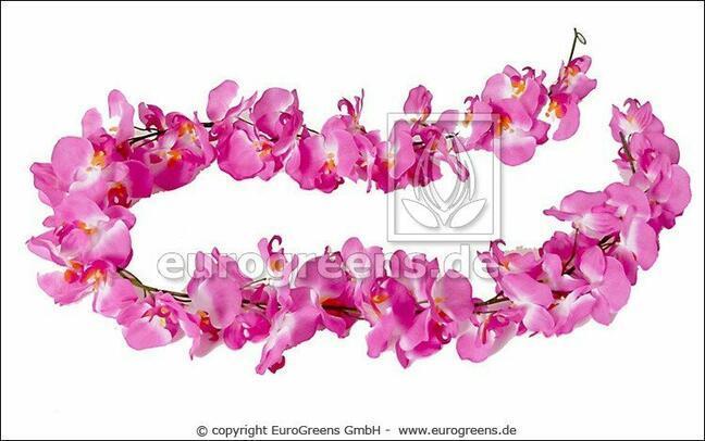 Umělá girlanda Orchidea 200 cm