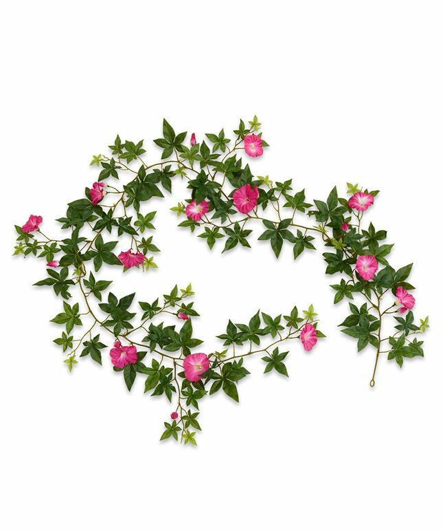 Umělá girlanda Petunia růžová 180 cm