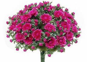 Umělá kytice Chryzantéma fialová 35cm