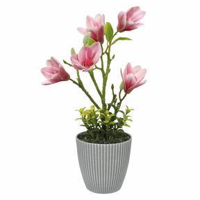 Umělá Magnólia v květináči 21 cm