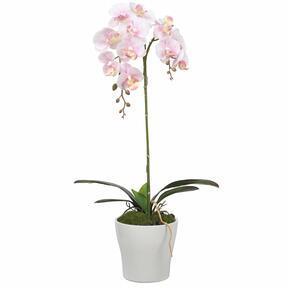 Umělá Orchidej růžová 53 cm