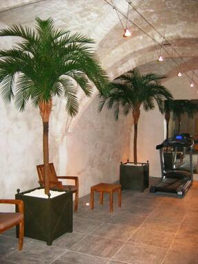 Umělá palma datlová 300 cm
