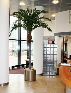 Umělá palma datlová 350 cm