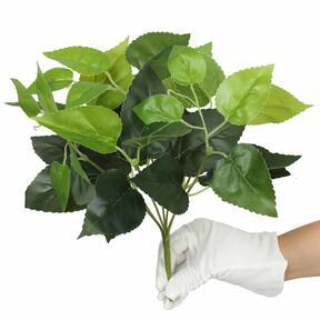 Umělá rostlina Bazalka zelená 25 cm