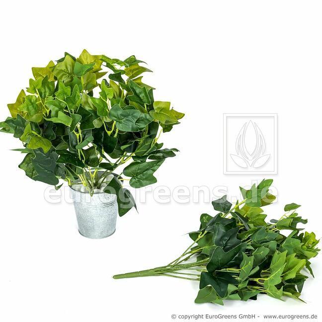 Umělá rostlina Břečťan zelená 40 cm