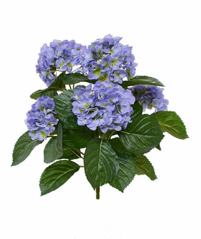 Umělá rostlina Hortenzie modrá 40 cm