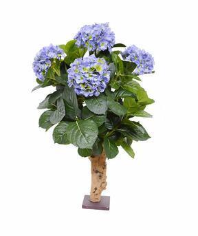 Umělá rostlina Hortenzie modrá 65 cm