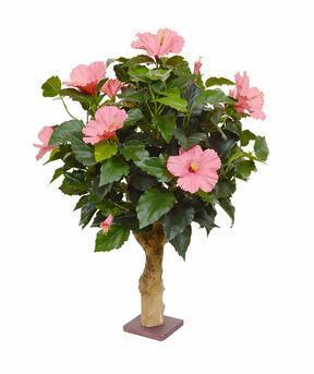 Umělá rostlina Ibišek 65 cm