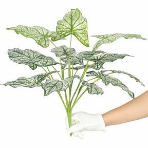 Umělá rostlina Kaládium dvoubarevná 50 cm