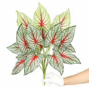 Umělá rostlina Kaládium vícebarevná 50 cm