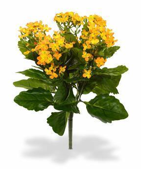 Umělá rostlina Kalanchoe oranžová 30 cm