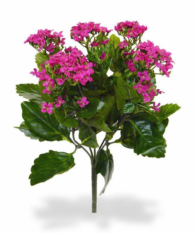 Umělá rostlina Kalanchoe růžová 30 cm