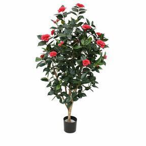 Umělá rostlina Kamélia růžová 150 cm