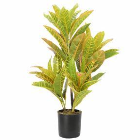 Umělá rostlina Kroton strakatý 55 cm