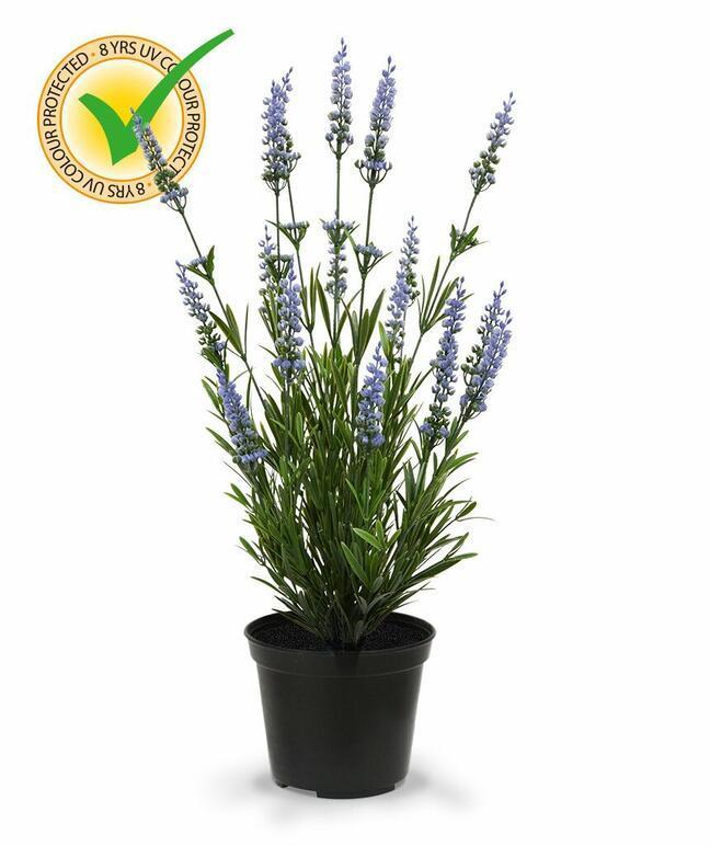 Umělá rostlina Levandule modrá 50 cm