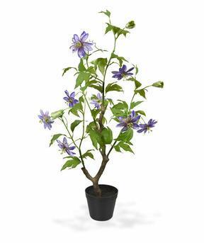 Umělá rostlina Mučenka fialová 90 cm
