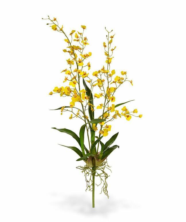 Umělá rostlina Orchidej Oncidium 80 cm