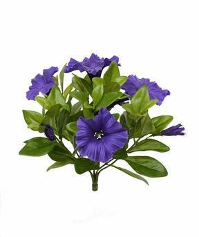 Umělá rostlina Petunie fialová 25 cm