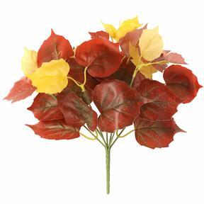 Umělá rostlina Přísavník červený 25 cm