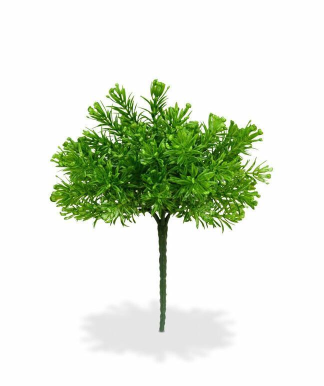 Umělá rostlina Senecio 15 cm