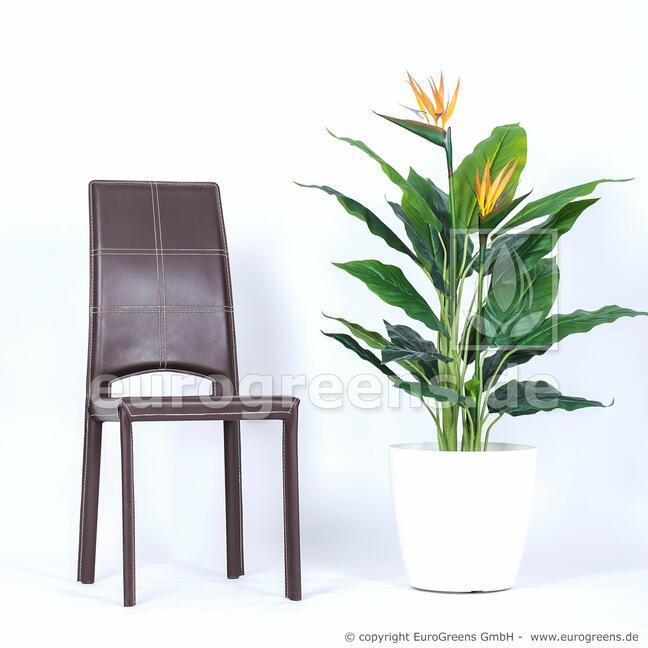 Umělá rostlina Strelície kvetoucí 120 cm