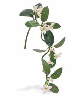 Umělá rostlina Vencovec květnatý bílo-růžový 63 cm