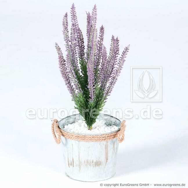 Umělá rostlina Vřesovec fialový 38 cm