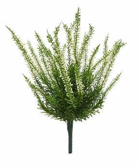 Umělá rostlina Vřesovec krémový 30 cm