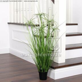 Umělá tráva Šáchor hlíznatý v květináči 90 cm