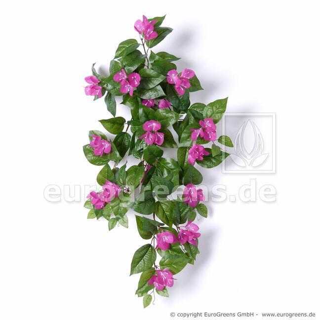 Umělá úponka Bugenvilea fialová 75 cm