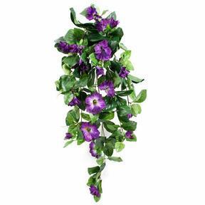 Umělá úponka Petunie fialová 80 cm
