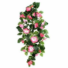 Umělá úponka Petunie růžová 80 cm