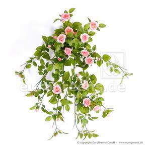 Umělá úponka Růže lososová 55 cm