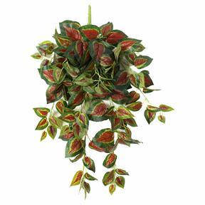 Umělá úponky Bazalka červená 80 cm