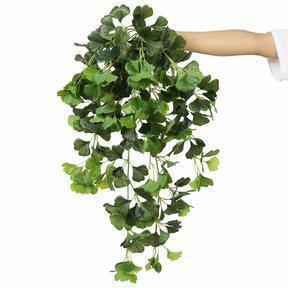 Umělá úponky Ginko zelená 80 cm