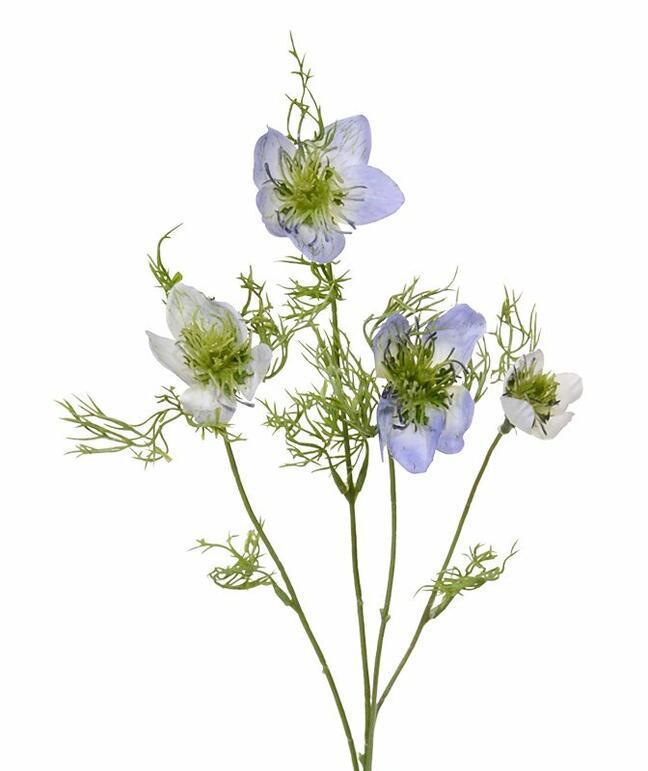 Umělá větev Černucha modrá 55 cm