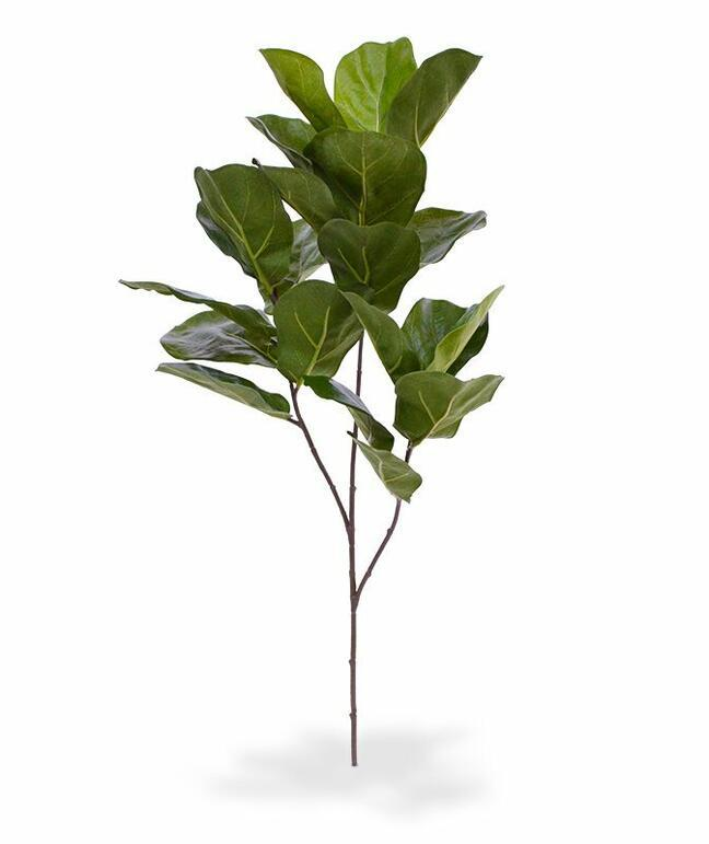 Umělá větev Fíkovník lýrovitolistý 70 cm