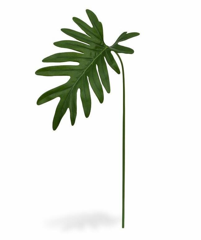 Umělá větev Filodendron Xanadu 55 cm