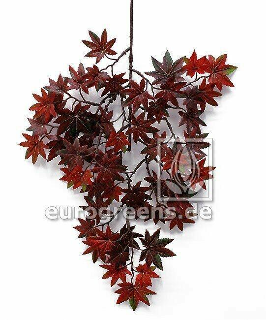 Umělá větev Javor načervenale-hnědá 40 cm