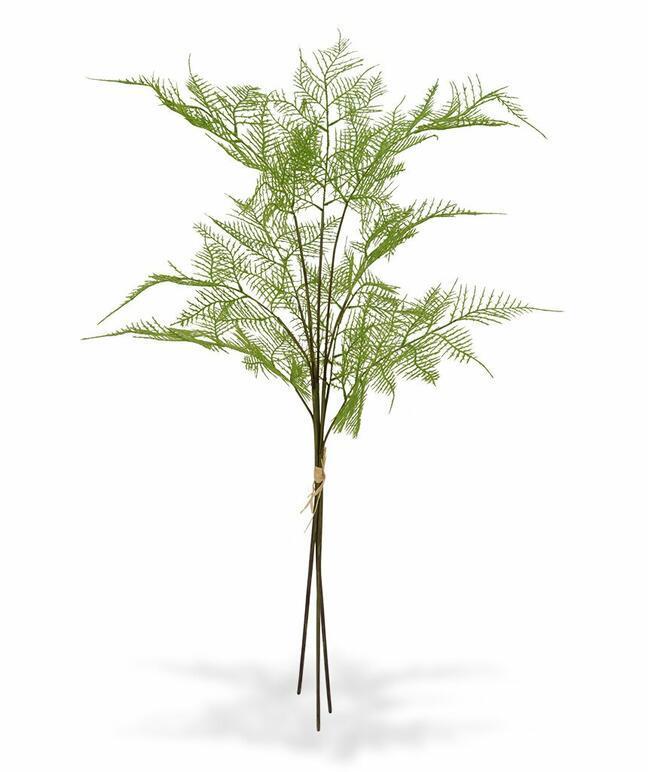 Umělá větev Kapradina 85 cm (Sada 3 ks)