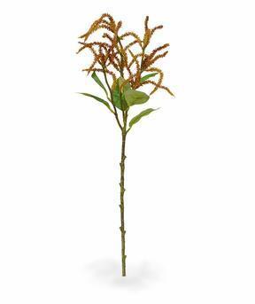 Umělá větev Laskavec oranžová 55 cm
