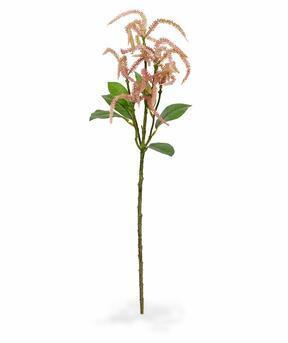 Umělá větev Laskavec růžová 55 cm